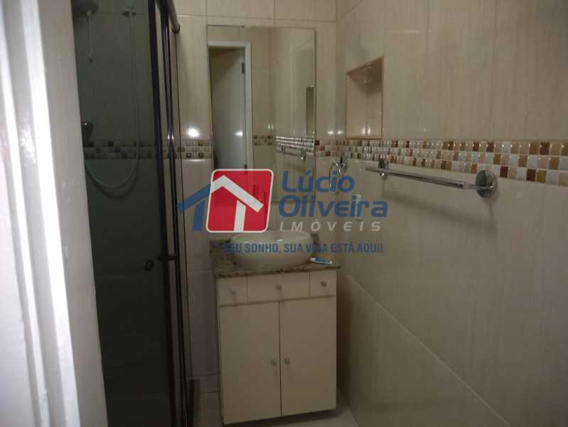 9- Banheiro - Apartamento Rua Doutor Miguel Vieira Ferreira,Ramos, Rio de Janeiro, RJ À Venda, 2 Quartos, 76m² - VPAP21228 - 9