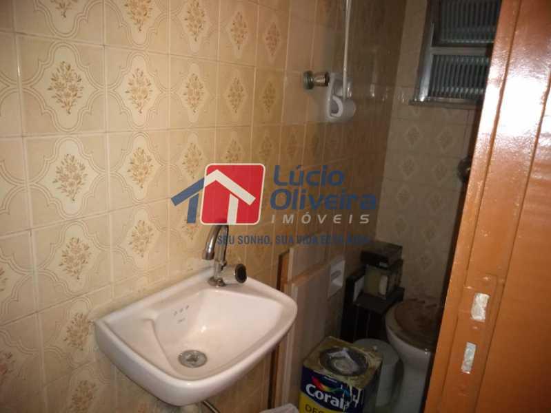 10- Banheiro - Apartamento Rua Doutor Miguel Vieira Ferreira,Ramos, Rio de Janeiro, RJ À Venda, 2 Quartos, 76m² - VPAP21228 - 10