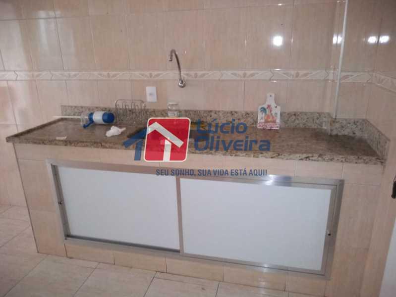11- Cozinha - Apartamento Rua Doutor Miguel Vieira Ferreira,Ramos, Rio de Janeiro, RJ À Venda, 2 Quartos, 76m² - VPAP21228 - 11