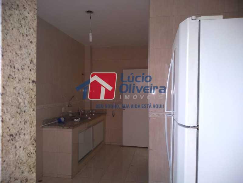 14- Cozinha - Apartamento Rua Doutor Miguel Vieira Ferreira,Ramos, Rio de Janeiro, RJ À Venda, 2 Quartos, 76m² - VPAP21228 - 14