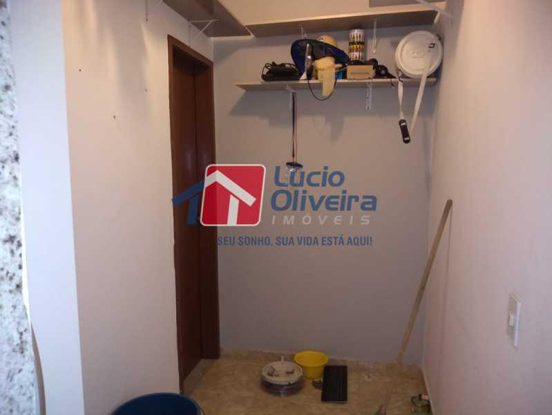 16- quarto de empregada - Apartamento Rua Doutor Miguel Vieira Ferreira,Ramos, Rio de Janeiro, RJ À Venda, 2 Quartos, 76m² - VPAP21228 - 16