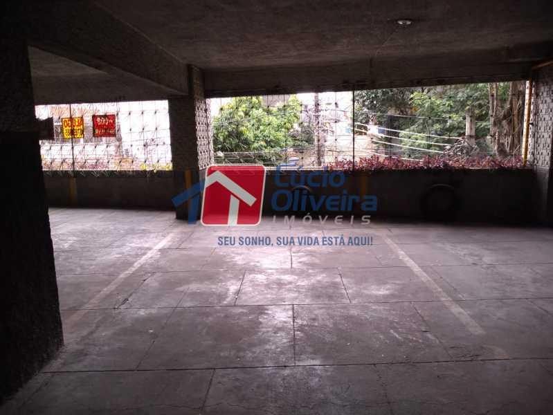 20- Garagem - Apartamento Rua Doutor Miguel Vieira Ferreira,Ramos, Rio de Janeiro, RJ À Venda, 2 Quartos, 76m² - VPAP21228 - 20