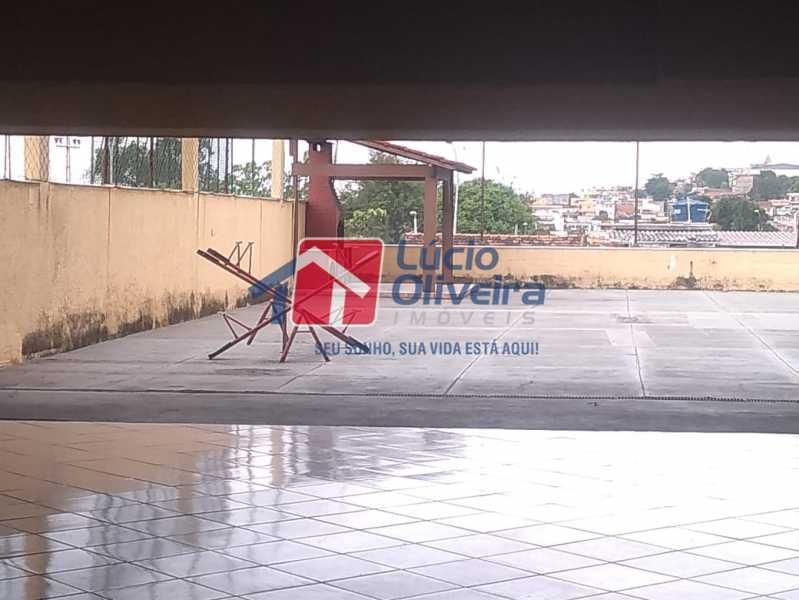 23- Churrasqueira - Apartamento Rua Doutor Miguel Vieira Ferreira,Ramos, Rio de Janeiro, RJ À Venda, 2 Quartos, 76m² - VPAP21228 - 23