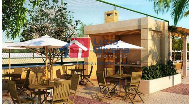 2 AREA GOURMET - Apartamento Rua Bernardo Taveira,Vicente de Carvalho, Rio de Janeiro, RJ À Venda, 3 Quartos, 72m² - VPAP30293 - 20