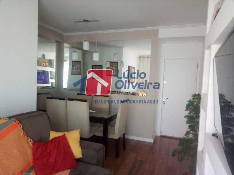 3 SALA - Apartamento Rua Bernardo Taveira,Vicente de Carvalho, Rio de Janeiro, RJ À Venda, 3 Quartos, 72m² - VPAP30293 - 1