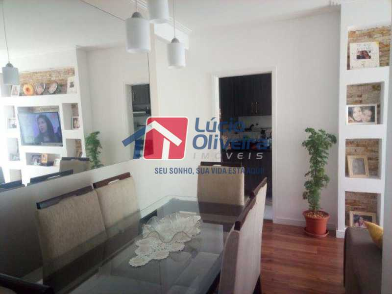 6 SALA - Apartamento Rua Bernardo Taveira,Vicente de Carvalho, Rio de Janeiro, RJ À Venda, 3 Quartos, 72m² - VPAP30293 - 5