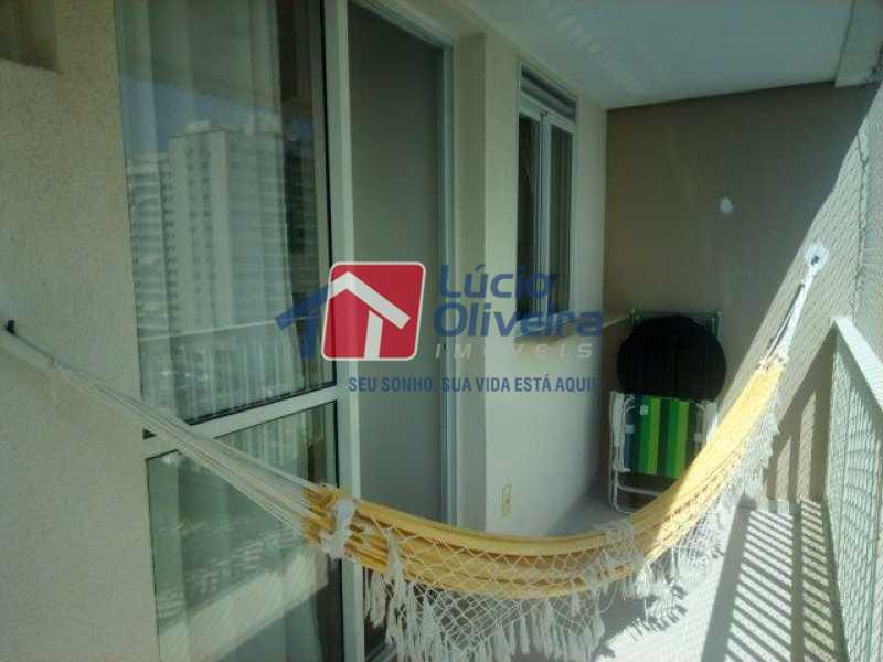 20 VARANDA - Apartamento Rua Bernardo Taveira,Vicente de Carvalho, Rio de Janeiro, RJ À Venda, 3 Quartos, 72m² - VPAP30293 - 19