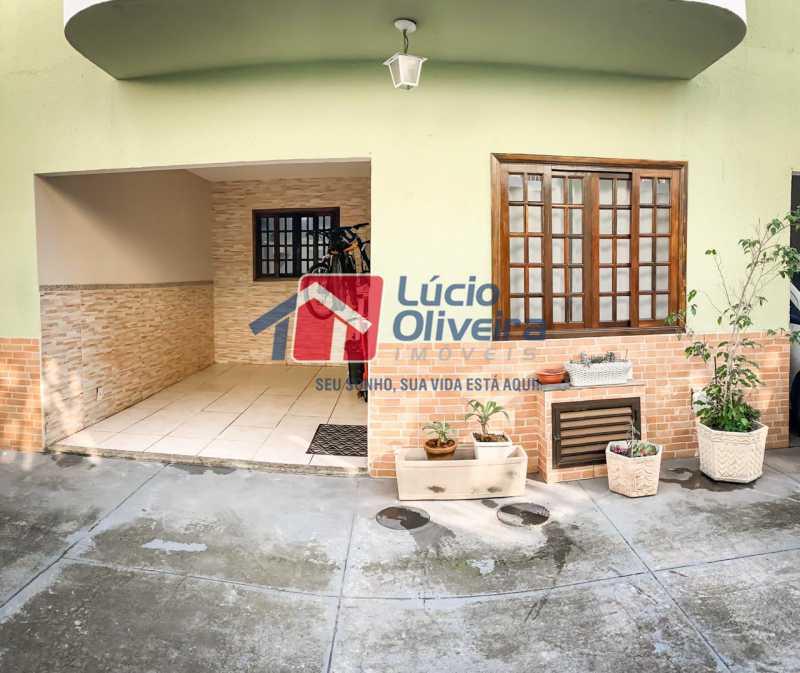 03 Frente do Imóvel. - Casa em Condomínio Rua Engenheiro Francelino Mota,Braz de Pina, Rio de Janeiro, RJ À Venda, 2 Quartos, 69m² - VPCN20026 - 4