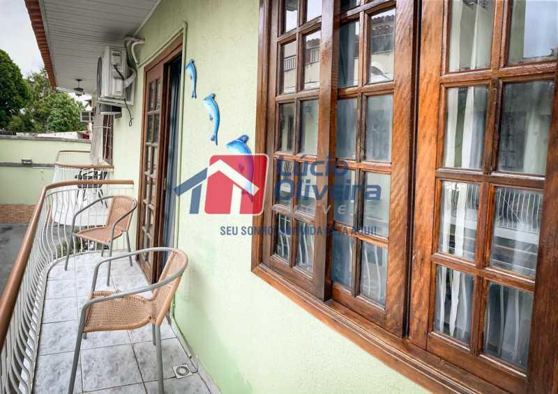 17 Sacada. - Casa em Condomínio Rua Engenheiro Francelino Mota,Braz de Pina, Rio de Janeiro, RJ À Venda, 2 Quartos, 69m² - VPCN20026 - 18