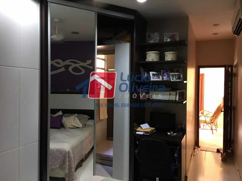6- Quarto - Casa à venda Rua Engenheiro Pinho de Magalhães,Vila da Penha, Rio de Janeiro - R$ 1.400.000 - VPCA40052 - 7