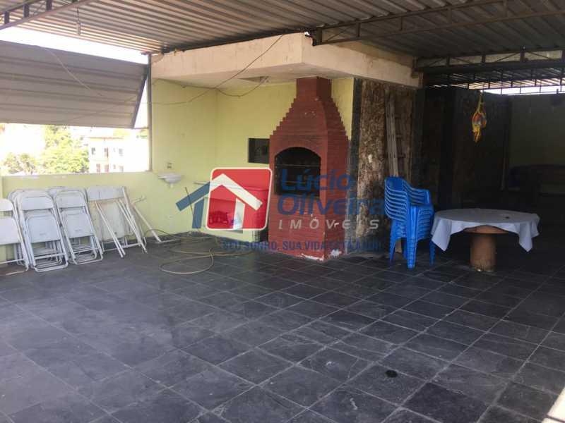 15- Terraço - Casa à venda Rua Engenheiro Pinho de Magalhães,Vila da Penha, Rio de Janeiro - R$ 1.400.000 - VPCA40052 - 16