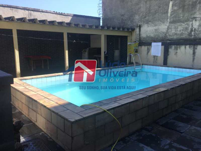 16-Piscina - Casa à venda Rua Engenheiro Pinho de Magalhães,Vila da Penha, Rio de Janeiro - R$ 1.400.000 - VPCA40052 - 17