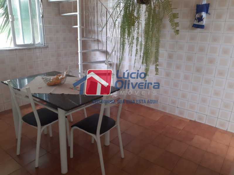 12 cozinha. - Apartamento à venda Estrada da Água Grande,Vista Alegre, Rio de Janeiro - R$ 398.000 - VPAP21238 - 10