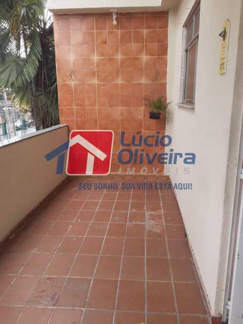 16 varanda. - Apartamento à venda Estrada da Água Grande,Vista Alegre, Rio de Janeiro - R$ 398.000 - VPAP21238 - 14