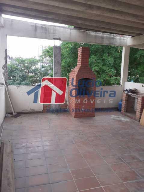 18 churrasqueira terraço. - Apartamento à venda Estrada da Água Grande,Vista Alegre, Rio de Janeiro - R$ 398.000 - VPAP21238 - 16