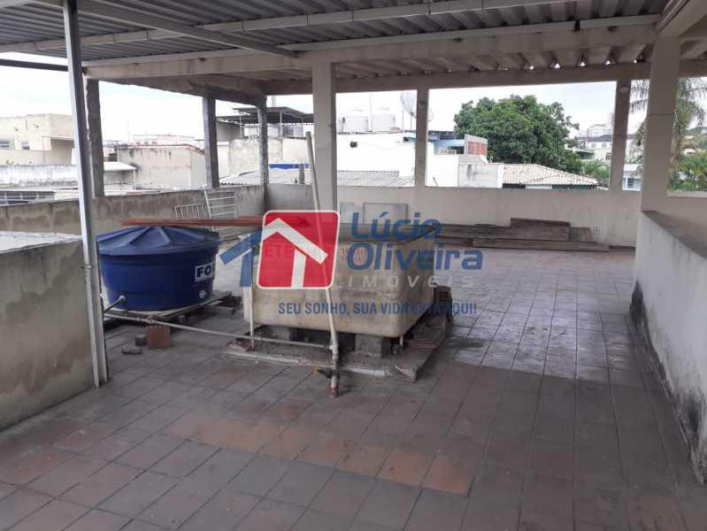 19 terraço. - Apartamento à venda Estrada da Água Grande,Vista Alegre, Rio de Janeiro - R$ 398.000 - VPAP21238 - 17