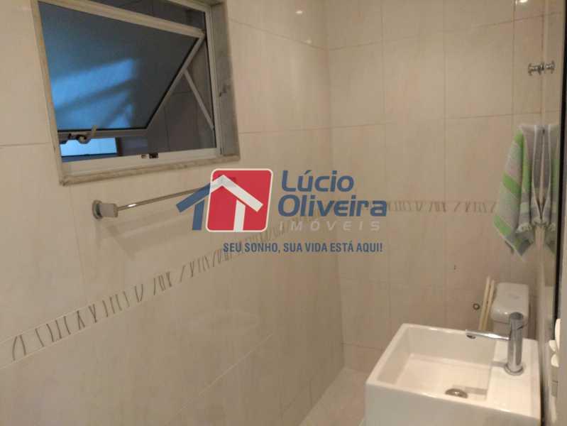 13- Banheiro - Apartamento Avenida Monsenhor Félix,Irajá, Rio de Janeiro, RJ À Venda, 2 Quartos, 76m² - VPAP21240 - 14