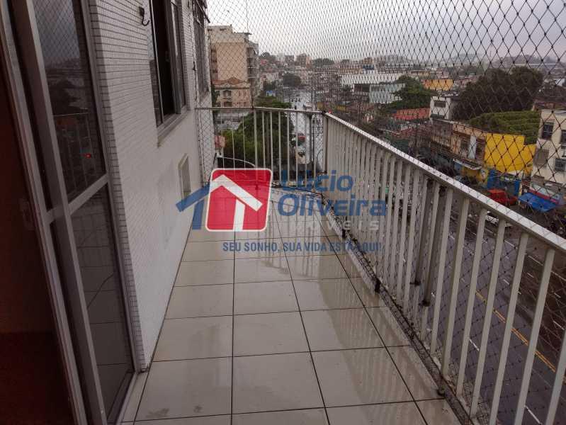 24- Varanda - Apartamento Avenida Monsenhor Félix,Irajá, Rio de Janeiro, RJ À Venda, 2 Quartos, 76m² - VPAP21240 - 25