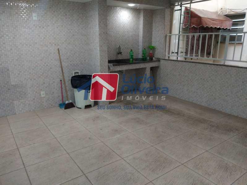 28- Salaão de Festa - Apartamento Avenida Monsenhor Félix,Irajá, Rio de Janeiro, RJ À Venda, 2 Quartos, 76m² - VPAP21240 - 29