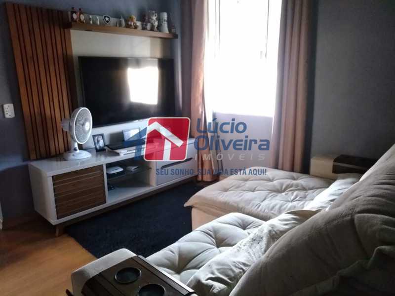 1 SALA - Apartamento À Venda Rua Hannibal Porto,Irajá, Rio de Janeiro - R$ 240.000 - VPAP21242 - 1