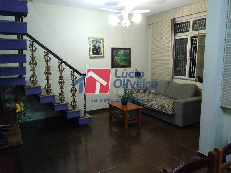 1-Sala estar - Casa Estrada da Água Grande,Vista Alegre, Rio de Janeiro, RJ À Venda, 5 Quartos, 190m² - VPCA50024 - 1