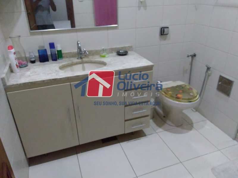 19-Banheiro social armarios - Casa Estrada da Água Grande,Vista Alegre, Rio de Janeiro, RJ À Venda, 5 Quartos, 190m² - VPCA50024 - 20