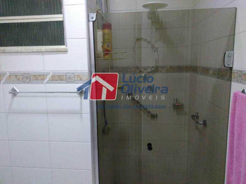 20-Banheiro social blindex - Casa Estrada da Água Grande,Vista Alegre, Rio de Janeiro, RJ À Venda, 5 Quartos, 190m² - VPCA50024 - 21