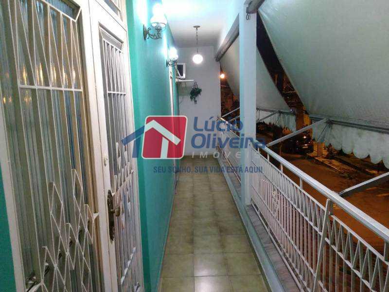 27-Varanda 2 piso - Casa Estrada da Água Grande,Vista Alegre, Rio de Janeiro, RJ À Venda, 5 Quartos, 190m² - VPCA50024 - 28