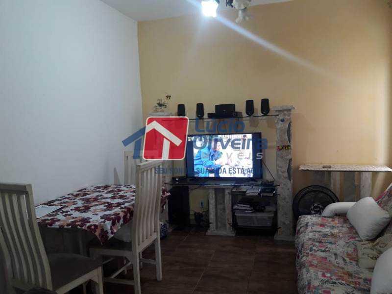 1- Sala - Casa de Vila à venda Rua Lima Drumond,Vaz Lobo, Rio de Janeiro - R$ 190.000 - VPCV30015 - 1