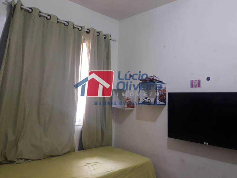 11-Quarto solteiro - Casa de Vila à venda Rua Lima Drumond,Vaz Lobo, Rio de Janeiro - R$ 190.000 - VPCV30015 - 13