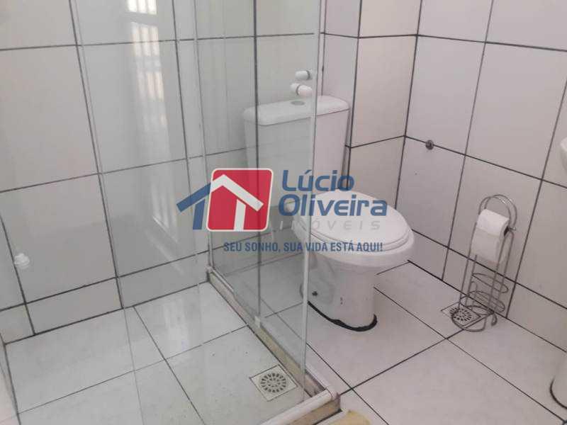 14-Banheiro social 2 piso - Casa de Vila à venda Rua Lima Drumond,Vaz Lobo, Rio de Janeiro - R$ 190.000 - VPCV30015 - 16
