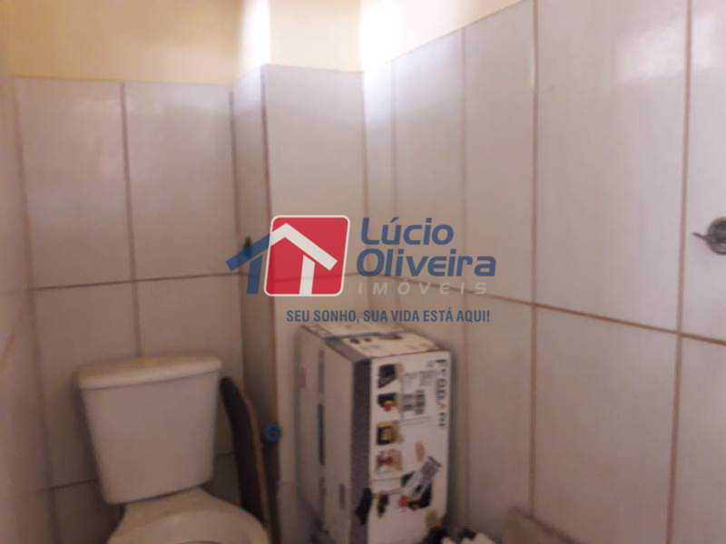 16-Banheiro terraço - Casa de Vila à venda Rua Lima Drumond,Vaz Lobo, Rio de Janeiro - R$ 190.000 - VPCV30015 - 18