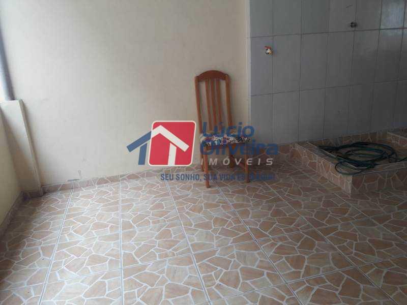 17-Terraço . - Casa de Vila à venda Rua Lima Drumond,Vaz Lobo, Rio de Janeiro - R$ 190.000 - VPCV30015 - 19