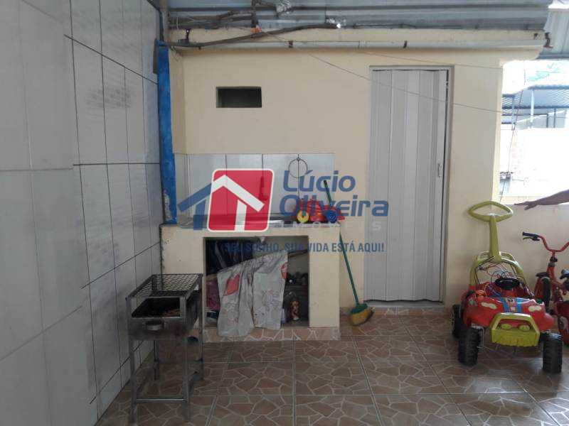 18-Terraço - Casa de Vila à venda Rua Lima Drumond,Vaz Lobo, Rio de Janeiro - R$ 190.000 - VPCV30015 - 20