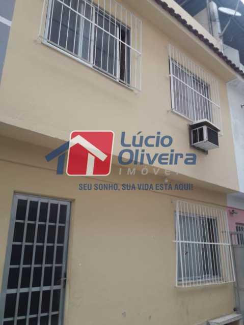 20-Frente Casa - Casa de Vila à venda Rua Lima Drumond,Vaz Lobo, Rio de Janeiro - R$ 190.000 - VPCV30015 - 22