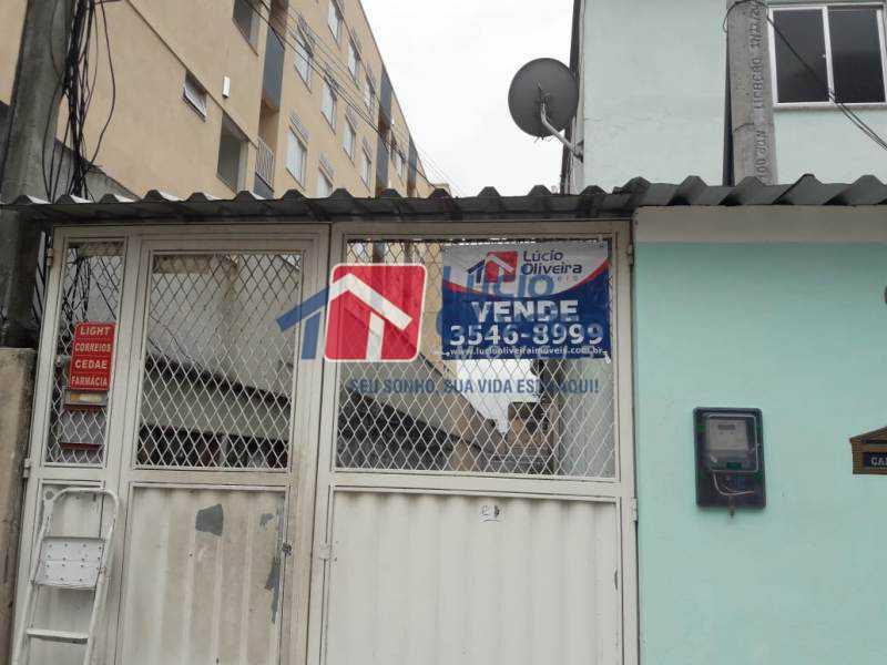 21-Portão Placa - Casa de Vila à venda Rua Lima Drumond,Vaz Lobo, Rio de Janeiro - R$ 190.000 - VPCV30015 - 23