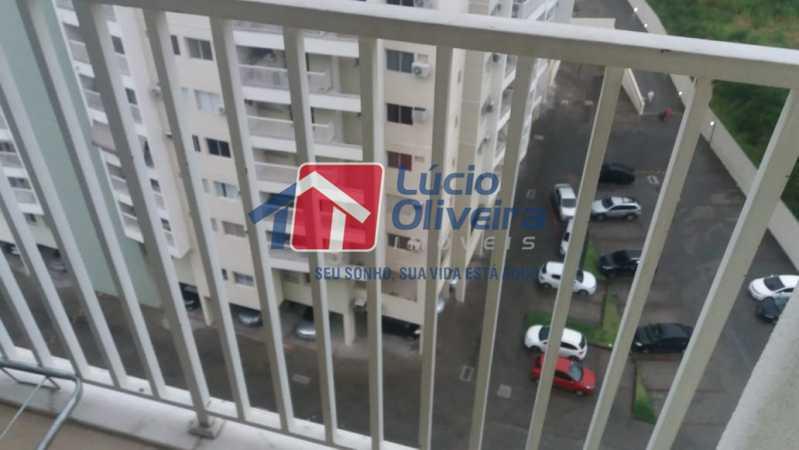 5 varanda. - Apartamento à venda Avenida Pastor Martin Luther King Jr,Vicente de Carvalho, Rio de Janeiro - R$ 235.000 - VPAP21247 - 6