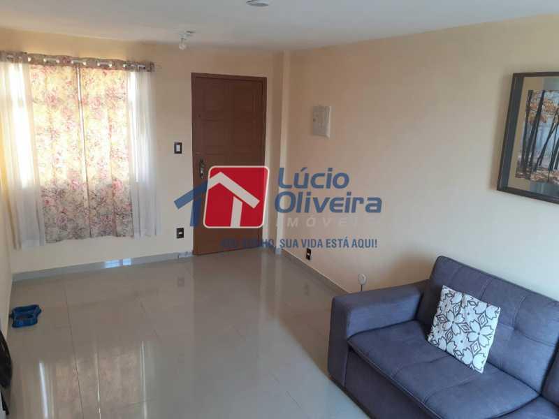 03- Sala - Apartamento à venda Rua Engenho do Mato,Tomás Coelho, Rio de Janeiro - R$ 100.000 - VPAP21253 - 4