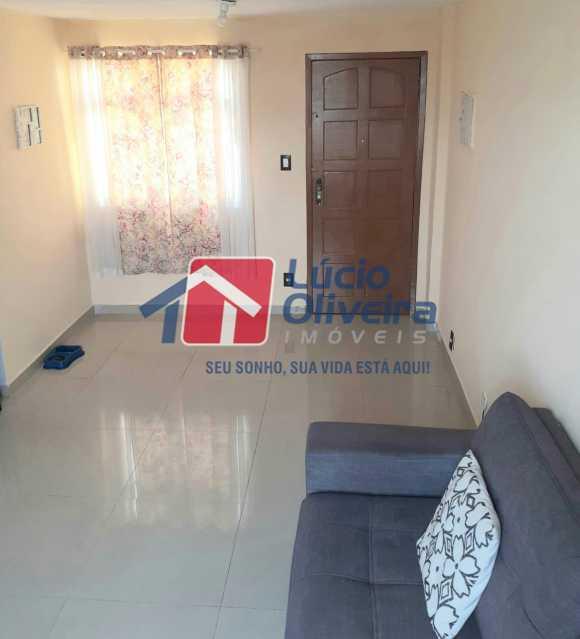 04 - Sala - Apartamento à venda Rua Engenho do Mato,Tomás Coelho, Rio de Janeiro - R$ 100.000 - VPAP21253 - 5