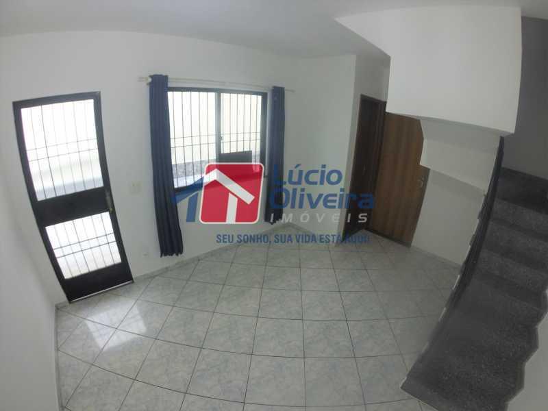 3 Sala - Casa para alugar Rua Libia,Vila da Penha, Rio de Janeiro - R$ 1.100 - VPCA20245 - 4