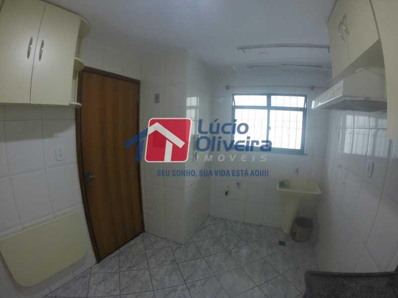 5 Cozinha - Casa para alugar Rua Libia,Vila da Penha, Rio de Janeiro - R$ 1.100 - VPCA20245 - 6