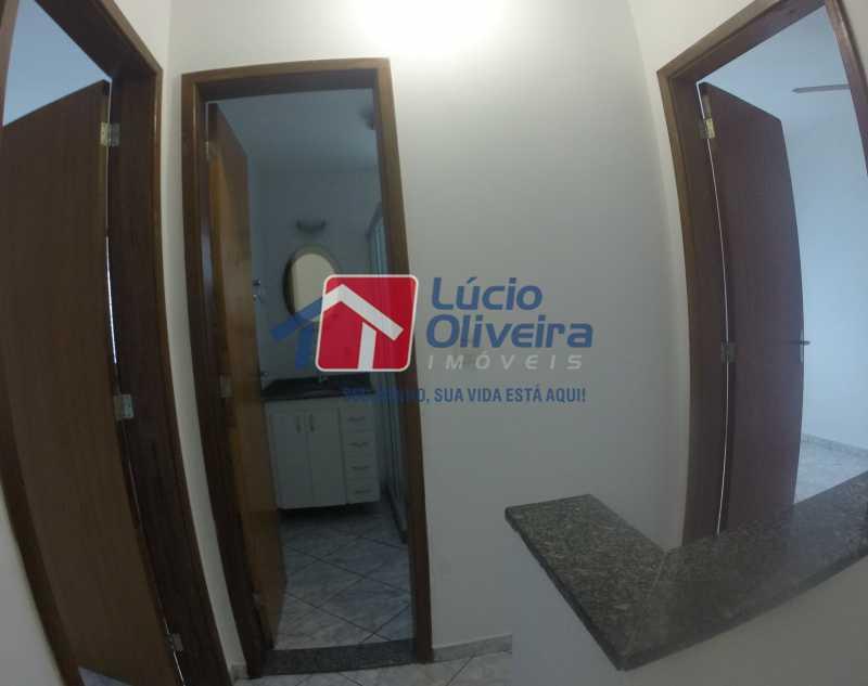 11 Hall segundo andar - Casa para alugar Rua Libia,Vila da Penha, Rio de Janeiro - R$ 1.100 - VPCA20245 - 12