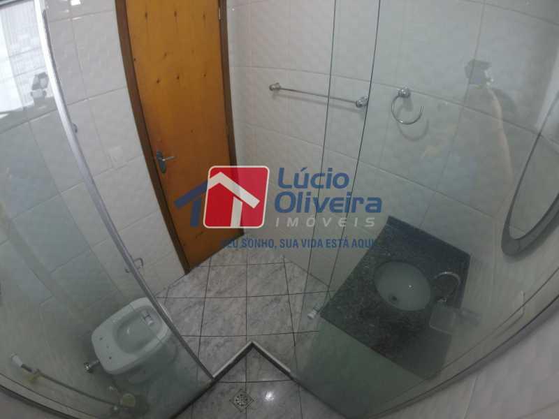 16 Banheiro segundo andar - Casa para alugar Rua Libia,Vila da Penha, Rio de Janeiro - R$ 1.100 - VPCA20245 - 17