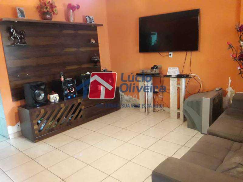 1- Sala 2 ambientes - Casa à venda Rua Turvo,Irajá, Rio de Janeiro - R$ 450.000 - VPCA50025 - 1