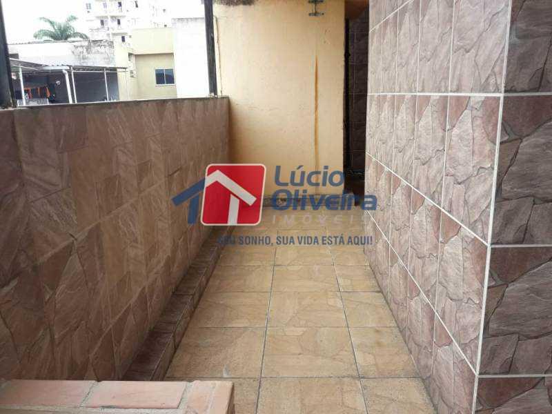 19-Terraço lateral - Casa à venda Rua Turvo,Irajá, Rio de Janeiro - R$ 450.000 - VPCA50025 - 20