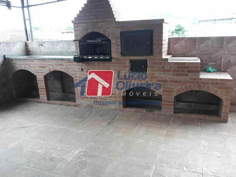 21-Churrasqueira - Casa à venda Rua Turvo,Irajá, Rio de Janeiro - R$ 450.000 - VPCA50025 - 22