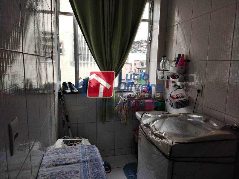 13 área de serviço - Apartamento Rua Helvetia,Penha Circular, Rio de Janeiro, RJ À Venda, 2 Quartos, 86m² - VPAP21257 - 15