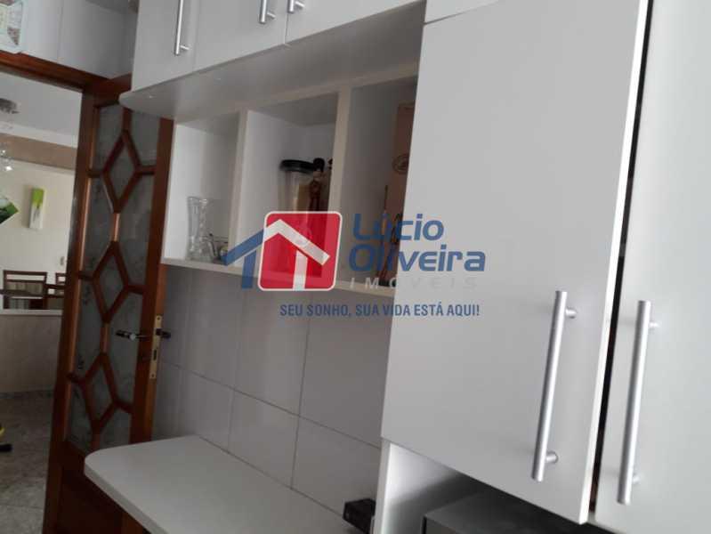7 armario da cozinha - Casa Rua Lucena,Olaria, Rio de Janeiro, RJ À Venda, 2 Quartos, 52m² - VPCA20246 - 9