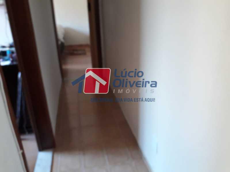 8 circulação - Casa Rua Lucena,Olaria, Rio de Janeiro, RJ À Venda, 2 Quartos, 52m² - VPCA20246 - 10
