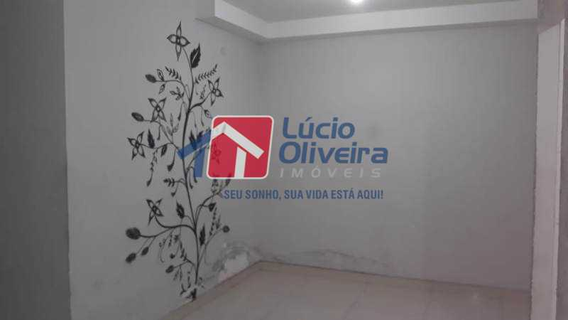 1-Sala parede decorada. - Apartamento à venda Rua Flora Rica,Engenho da Rainha, Rio de Janeiro - R$ 260.000 - VPAP30298 - 1